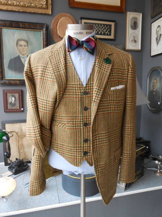 PICARIELLO 38S vintage men's jacket / by RichardsFabulousFind, $195.00