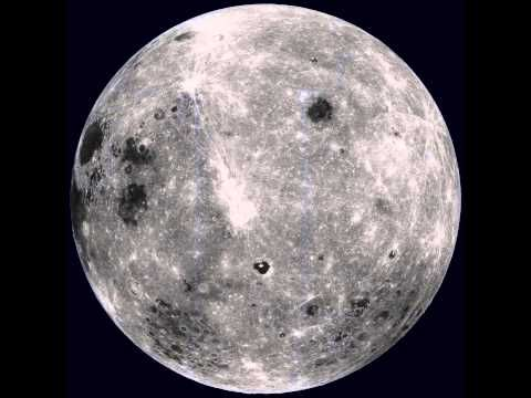 NASA video of rotating moon