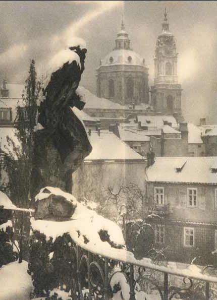 JOSEF SUDEK (1896 - 1976) Winter Prague