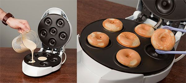 Mini Donut Factory,amazon, Buy, creative, home, innovative, kitchen, products, useful, design, inspiration, cooking,