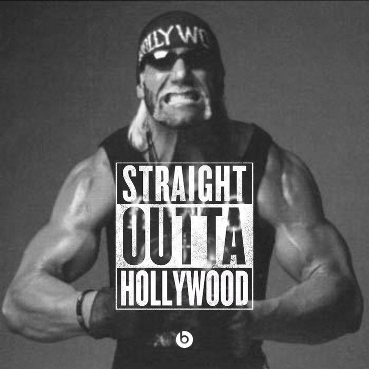 """""""Hollywood"""" Hulk Hogan - Straight Outta Hollywood! #StraightOuttaSomewhere #HulkHogan #HollywoodHulkHogan #WCW #nWo #WWE"""