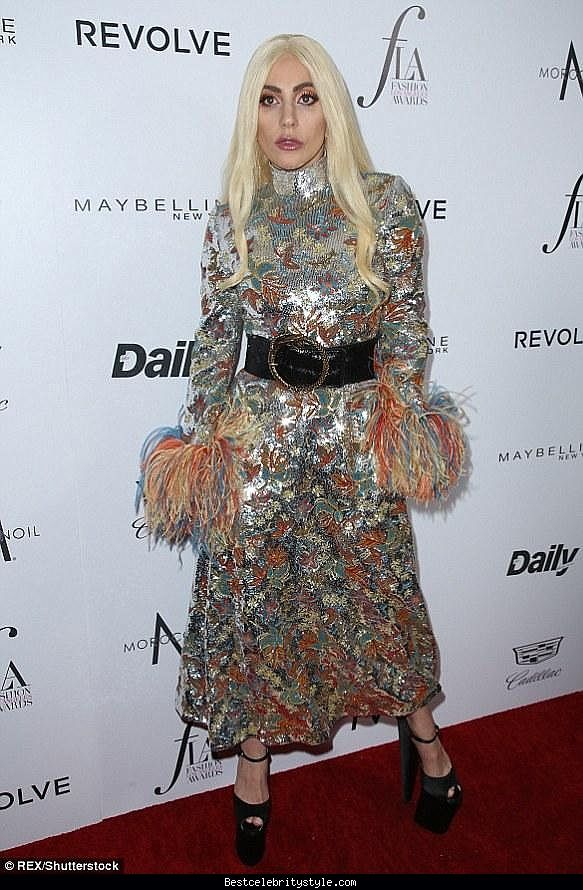 awesome Lady Gaga Daily Front Row's Fashion Los Angeles Awards   Style