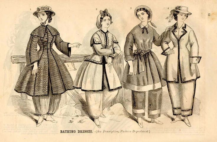 Mackin-Art: The Perils of Online Research or Why It's Important to Evaluate Your Sources  A really interesting blog post about 1860's women's bathing attire.  Also about evaluating source material.
