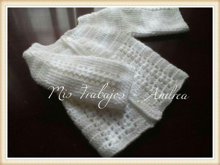 Saco lana para recien nacido (0-3 meses)