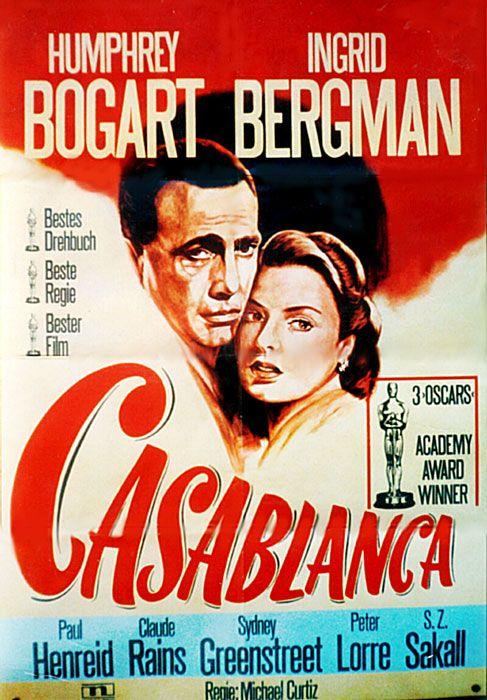 Poster zum Film: Casablanca