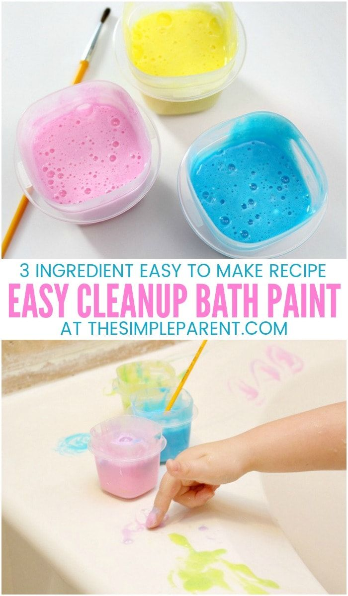 Making Bath Time Quality Time With Kids Bath Paint More With