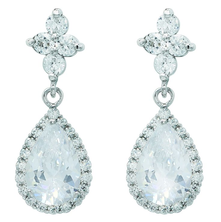 Dangle Earrings , inspired by water drop!! sparkle !! Wowwwww........take it home plz ;P