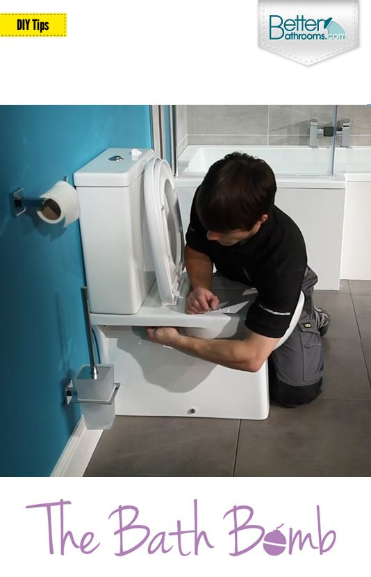 Follow our simple step-by-step guide and you'll soon know how to fit a toilet correctly. Toilet installation made easy by The Bath Bomb at Better Bathrooms. http://www.betterbathrooms.com/blog/how-to-fit-a-toilet/