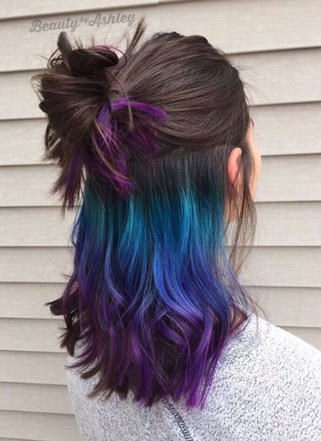 Underlights Hair, la coloration tendance en 2016