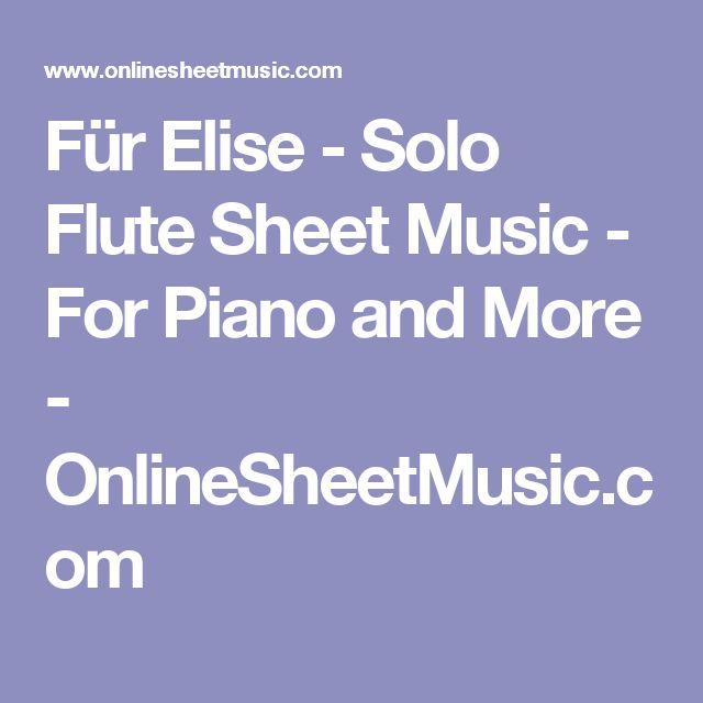 25 Best Ideas About Fur Elise Sheet Music On Pinterest