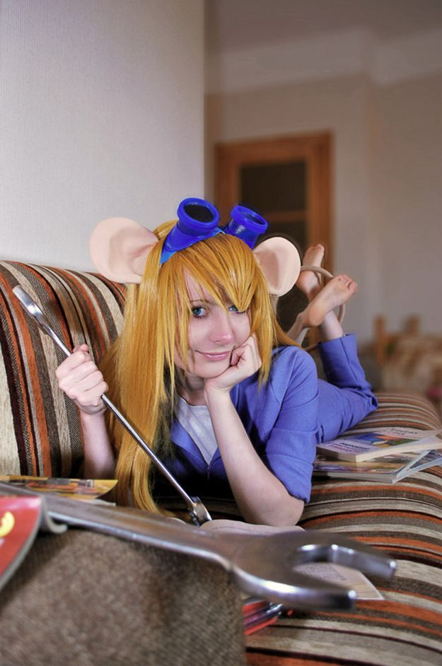 Gadget from Chip 'n Dale Rescue Rangers