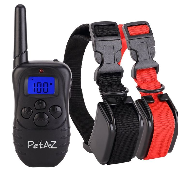 2 Dog Shock Training E Collar Pet Trainer Remote Waterproof Rechargeable Hunting #Pet #Custom
