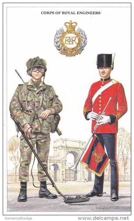 British; Corps of Royal Engneers, Sapper & Bandsman
