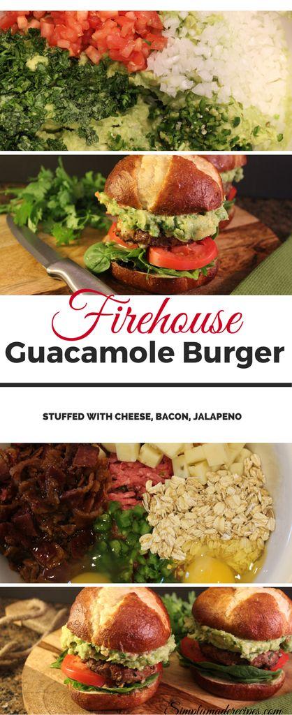 Firehouse guacamole burger 2