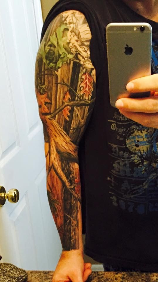 14 best tattoos images by steve dechant on pinterest for Camo sleeve tattoo