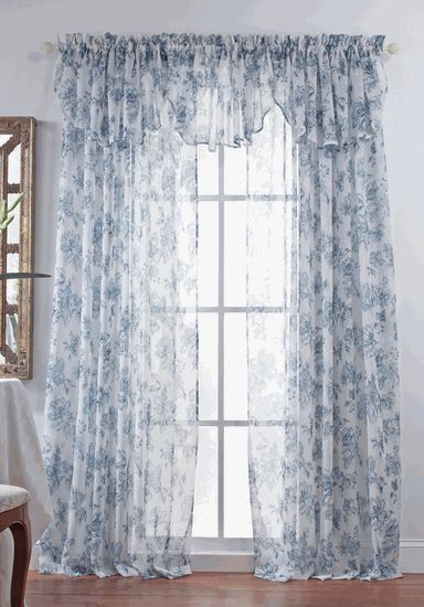 Country style curtains, Renaissance and Country style on Pinterest
