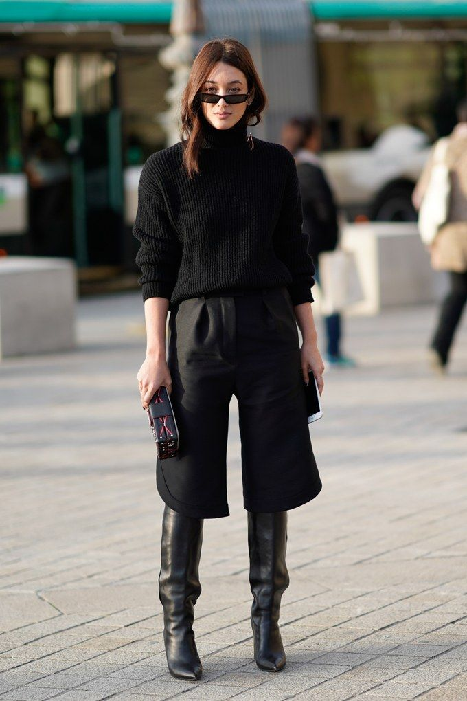 Wear Over-the-Knee Boots This Winter