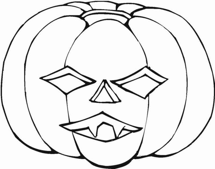 pumpkin coloring pages for kids halloweencoloringpages