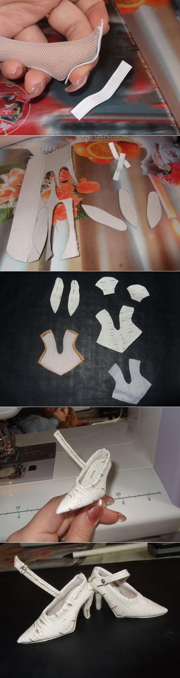 MK para sapato boneca com salto