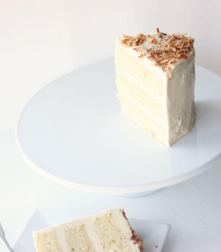 Super Moist Coconut Cake | Cake Paper Party