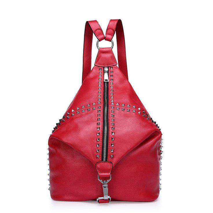 Tienda online de mochilas bolsos de viaje de cuero auténtico de moda para mujeres España [AL93124] - €63.62 : bzbolsos.com, comprar bolsos online
