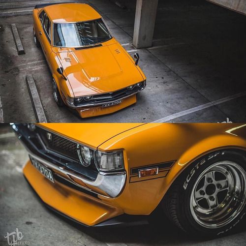 Modified Early Toyota Celica