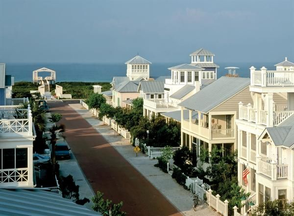 Beach houses and cottages, seaside, florida