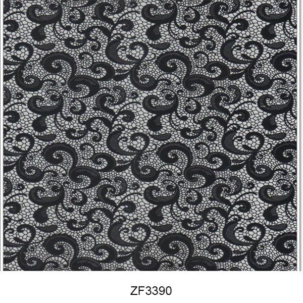 Hydro printing film flower pattern ZF3390