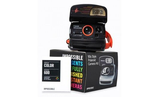 Refurbished Polaroid 600 90s Style Instant Camera