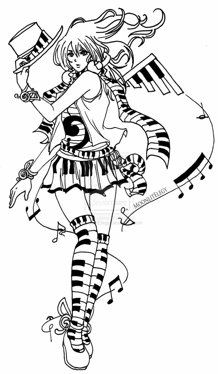 Best 330 Music Coloring Pages for