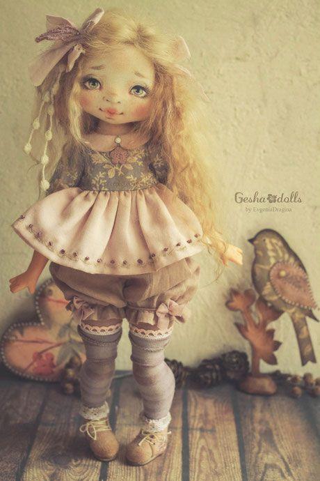 Капелька - GeshaDolls-авторские куклы Евгении Драгиной