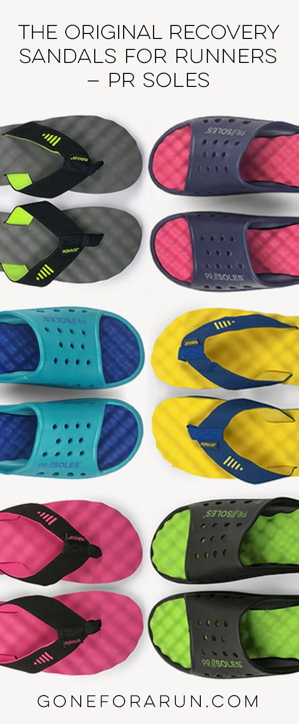 Our PR SOLES sandals and flip flops are the perfect way to recover after a long run! Check out our latest post on how they could help your feet!