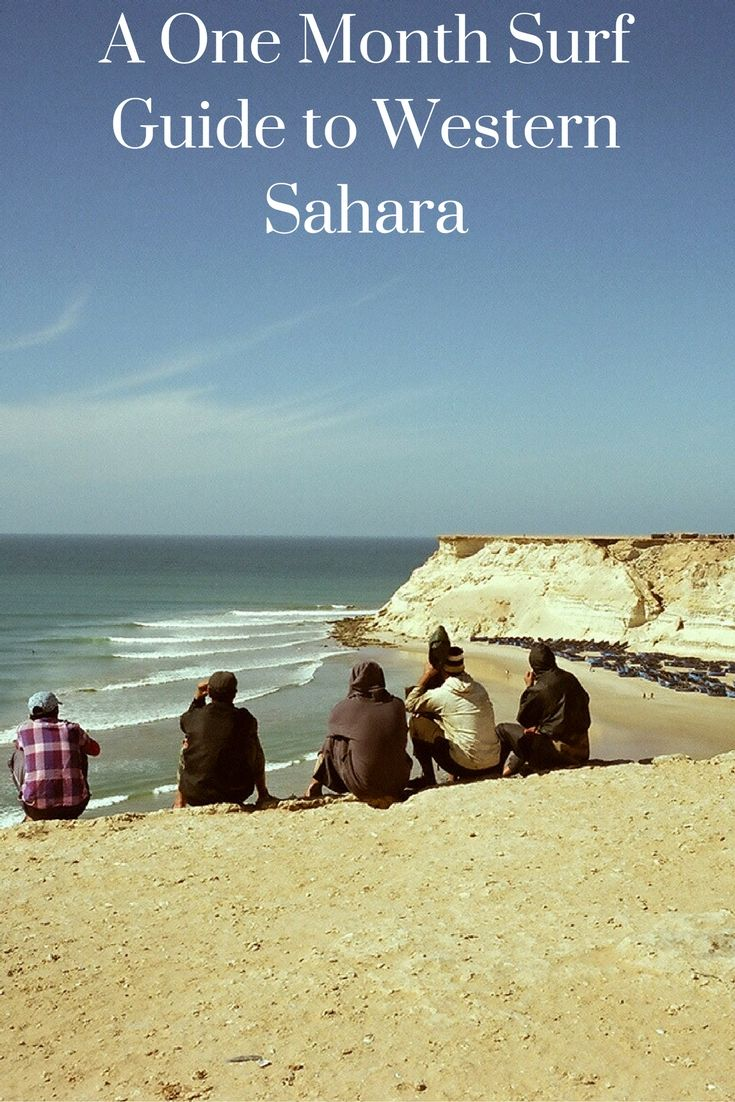 A one month guide to surfing in Western Sahara. http://holidayfromwhere.com/one-month-western-sahara-surf-guide/