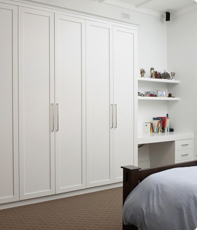 Boston Range Hinged Built-in Robes in Adelaide