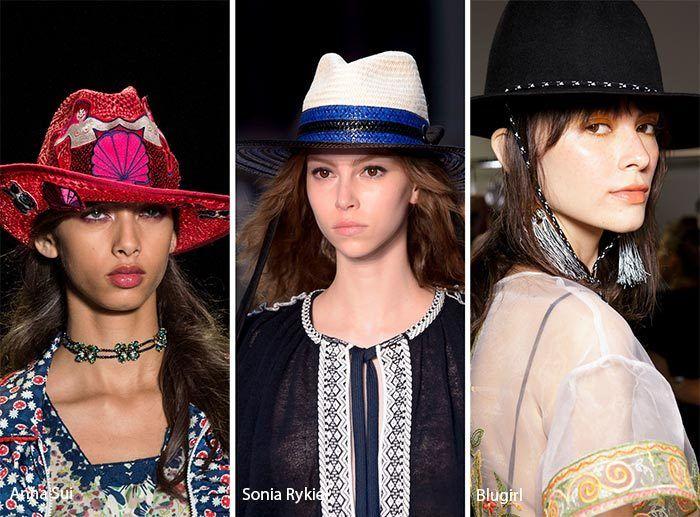 модные ковбойские шляпы 2017, фото