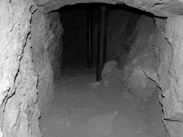 Haunted Tunnels under The Stanley Hotel - so creepy!