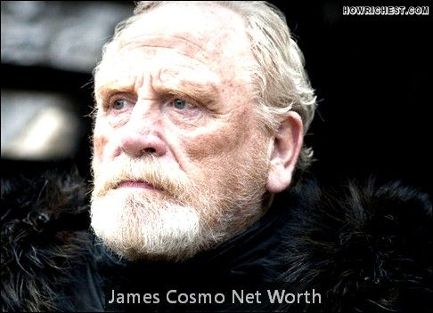 James Cosmo Net Worth is $8 Million      Date of Birth    Birthplace    Profession Actor   Nationality     James Cosmo Net Worth:  He is a Scottish actor with $8 million net worth. He was born in 1948 in Clyde Banc of Scotland. James Cosmo has more than 1