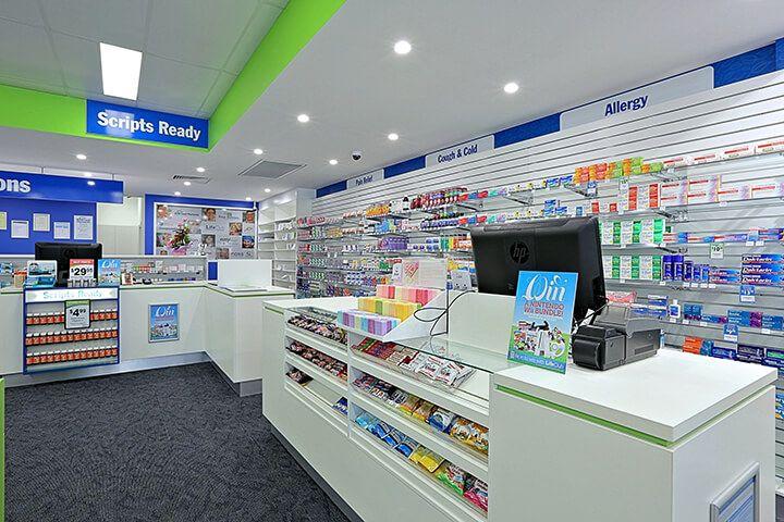 Pharmacy Decoration Design Modern Pharmacy Design Retail