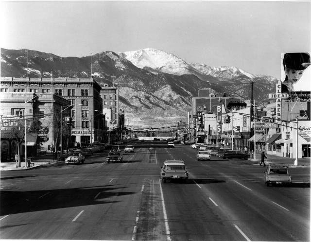 Pikes Peak Av Colorado Springs Colo 1965 We Spent A Week In The