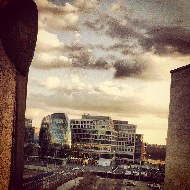 Room with a view, Eurovea, Bratislava; by Peter Sedlacik