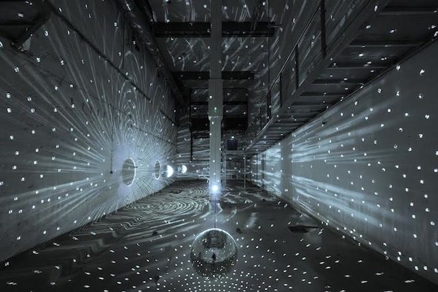 "Take An Electrifying Look Inside The World's First Light Art Museum | Mischa Kuball's ""Space-Speech-Speed"""