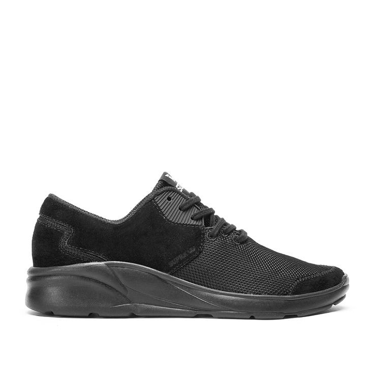 NOIZ in BLACK / BLACK - BLACK | SUPRA Footwear
