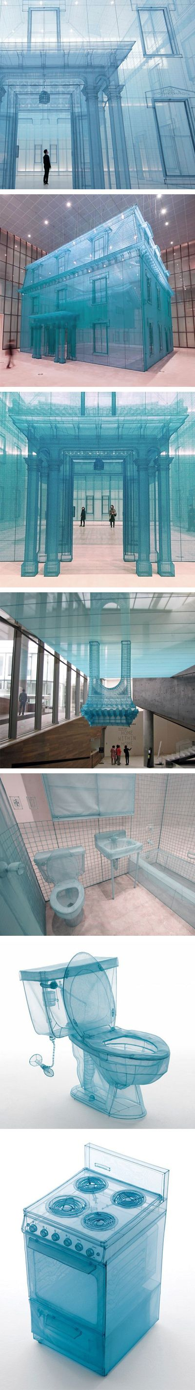 Do Ho Suh #installation #art