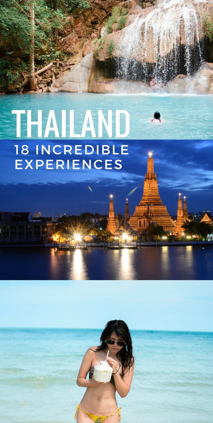 Thailand Travel Guide!  Thailand temples, beaches, waterfalls and more.  #travel #thailand #bangkok #asia