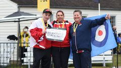 Sept.29 2017 - Invictus Games -  Canada earns gold and silver in women's archery Canada's Elizabeth Newman and Melissa Smith captured gold and silver medals in archery for the women's novice recurve. It was Newman's first medal of the games.Canada earns gold and silver in women's archery
