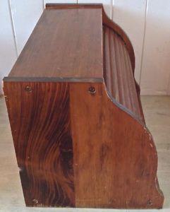 Vintage. Collection. Boîte à pain en bois. Couvercle rotatif L Lévis Chaudière-Appalaches image 5