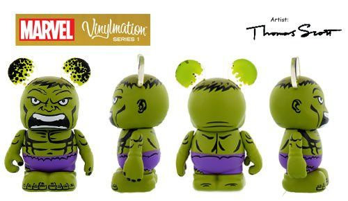 MARVEL Series 1 HULK Disney Vinylmation 3 Figure Comic Cute * You can get additional details at the image link.
