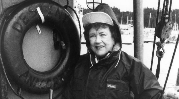 Julia Child worked in the Office of Strategic Services, a WWII-era spy agency.