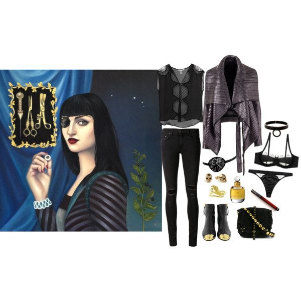 Ocular Prosthesis by ghoulnextdoor on Polyvore featuring art by Arabella Proffer