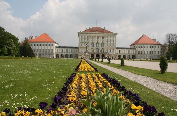 #castle #Nymphenburg #munich, #germany - #Schloss Nymphenburg in #München, #Deutschland